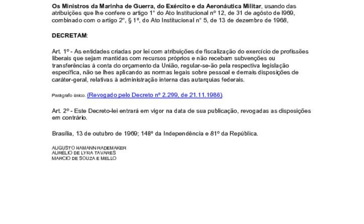 thumbnail of Decreto Lei 968 Supervisao Ministerial