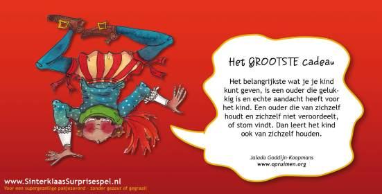 Jalada Goddijn-Koopmans: het grootste cadeau