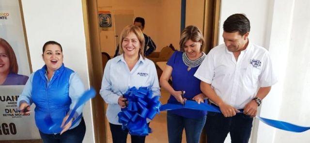 Inaugura Juanita Sánchez Comités de Campaña en la Frontera Chica (1)