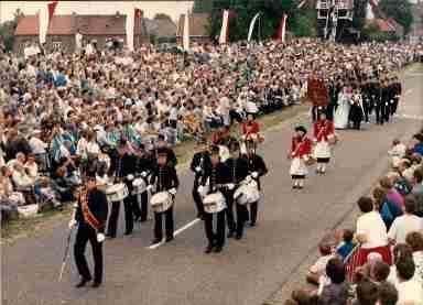 foto 17 Schutterij Sint Martinus Horn 1986 OLS Stramproy klein