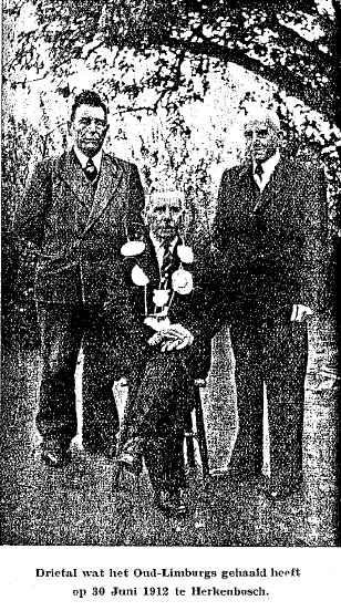foto 23 Schutterij Sint Martins Horn winnaars OLS 1912