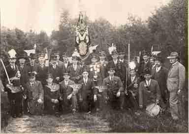 foto 5 Schutterij Sint Martinus Horn 1930 plus minus klein