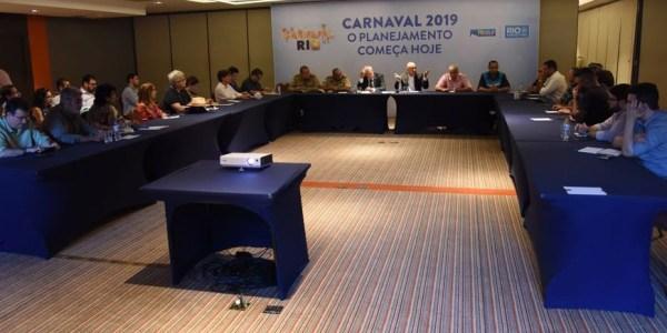 Riotur promoveu a terceira reunião de planejamento do Carnaval 2019