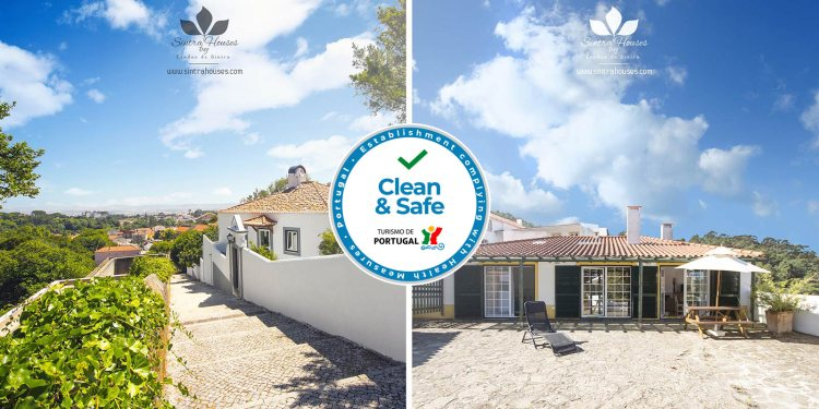 "Sintra Houses by Lendas de Sintra has been accredited by ""Clean & Safe"""