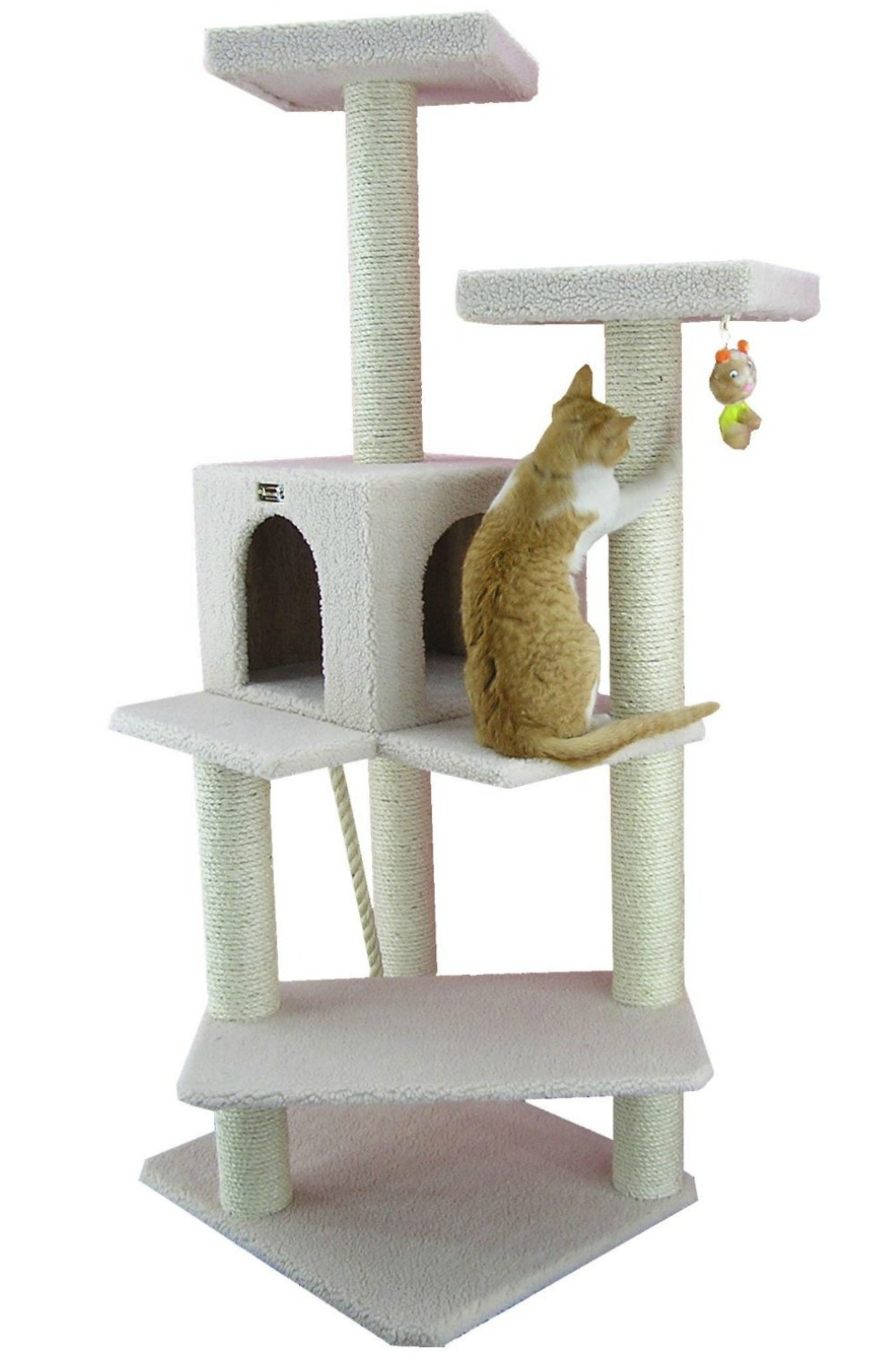 Armarkat Cat Tree Furniture 50 in. to 60 in. High