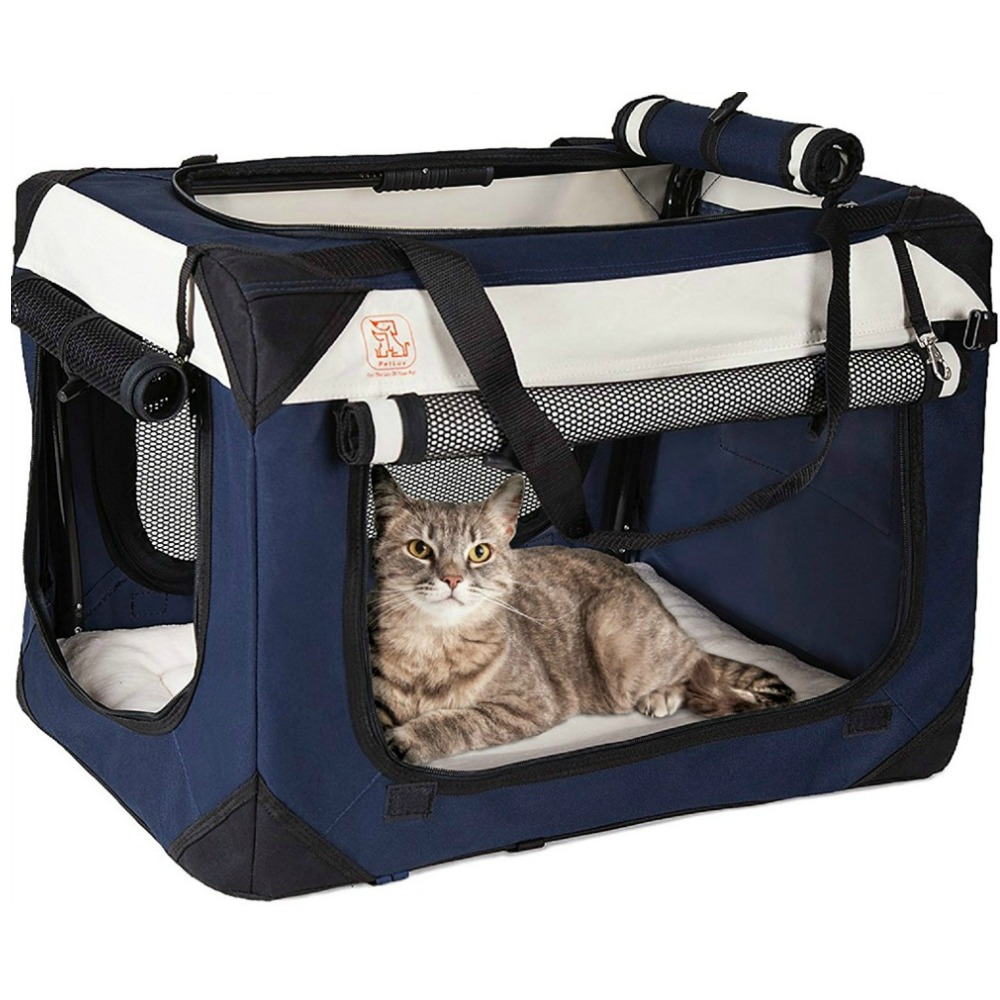 """PetLuv """"Happy Cat"""" Soft-Sided Cat Carrier"""
