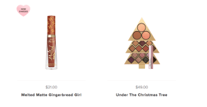 Too Faced- Holiday Makeup
