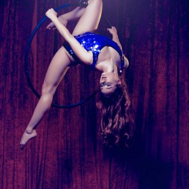 Aerial Hoop photoshoot Siobhan Johnstone