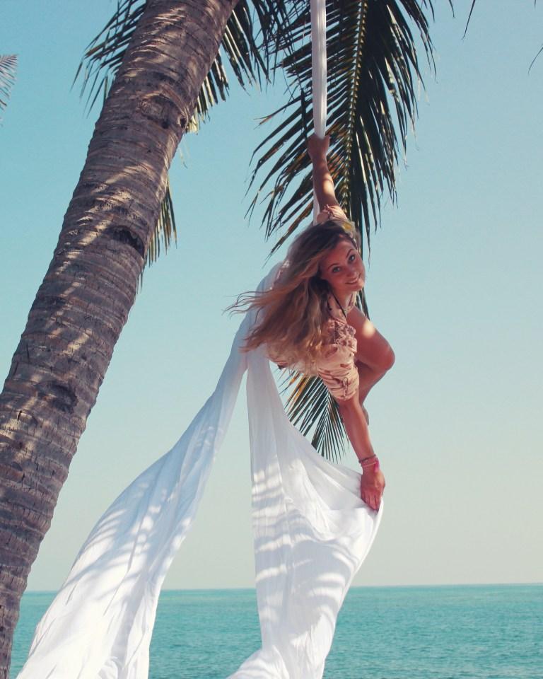 Beach Aerial Silks Siobhan Johnstone
