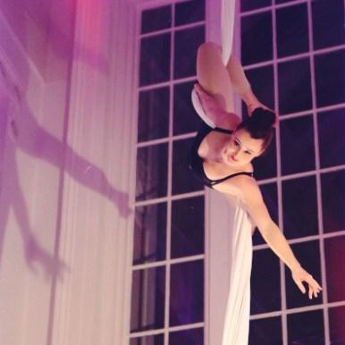 Siobhan Johnstone aerial silks performer