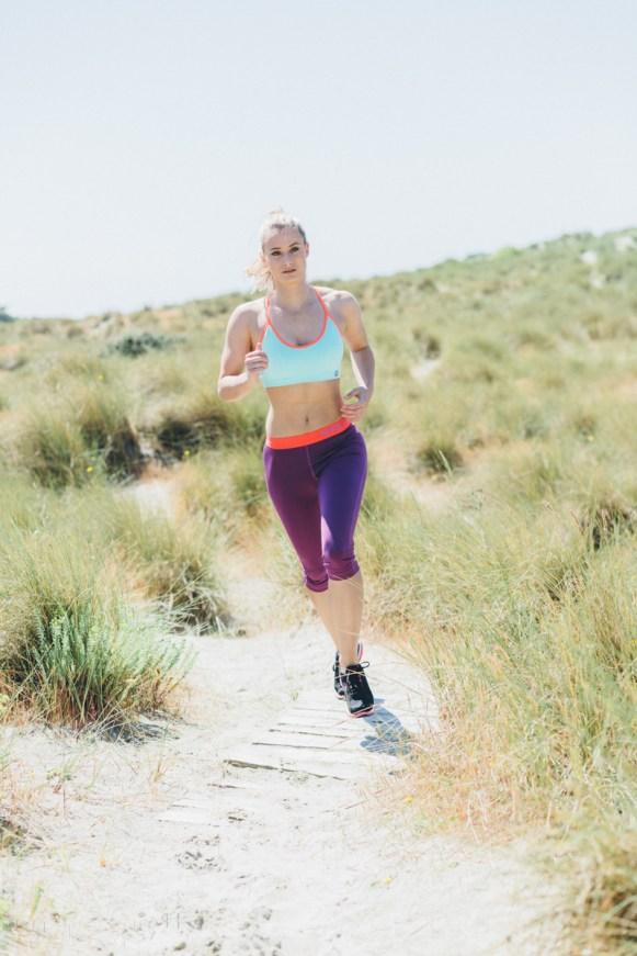 Siobhan Johnstone running