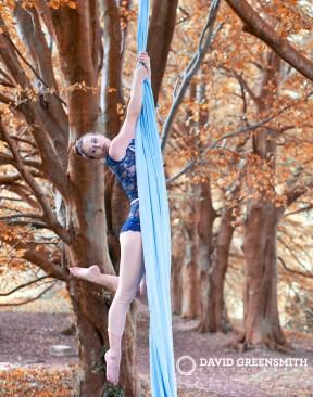 Fall Aerial Silks Siobhan Johnstone