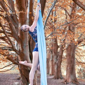 Fall Aerial Silks Siobhan Johnstone