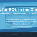 On-Demand Webinar: SQL Server High Availability in the cloud