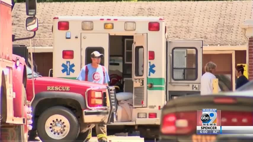 Vehicle hits 8 in Nursing Home Crash