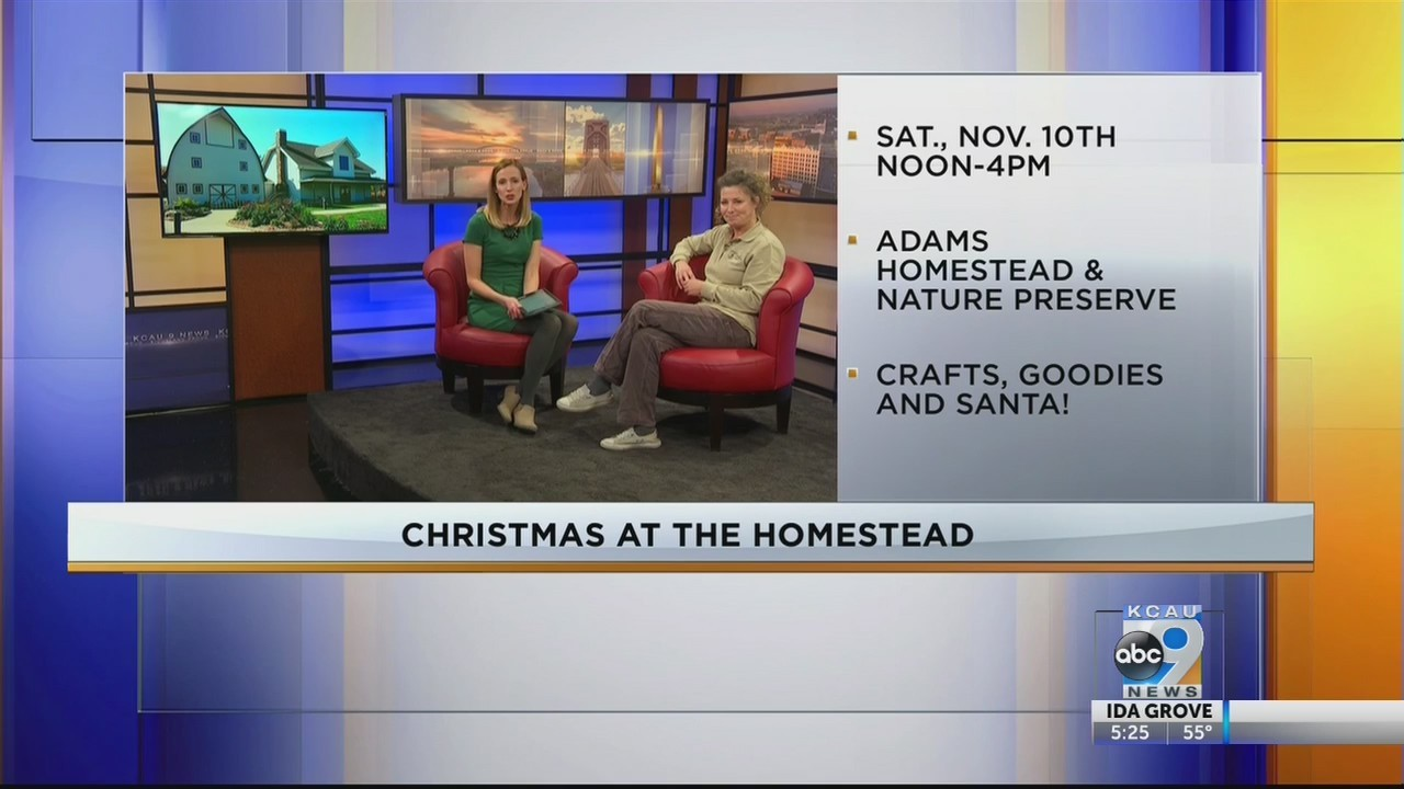 Interview For Christmas At The Homestead
