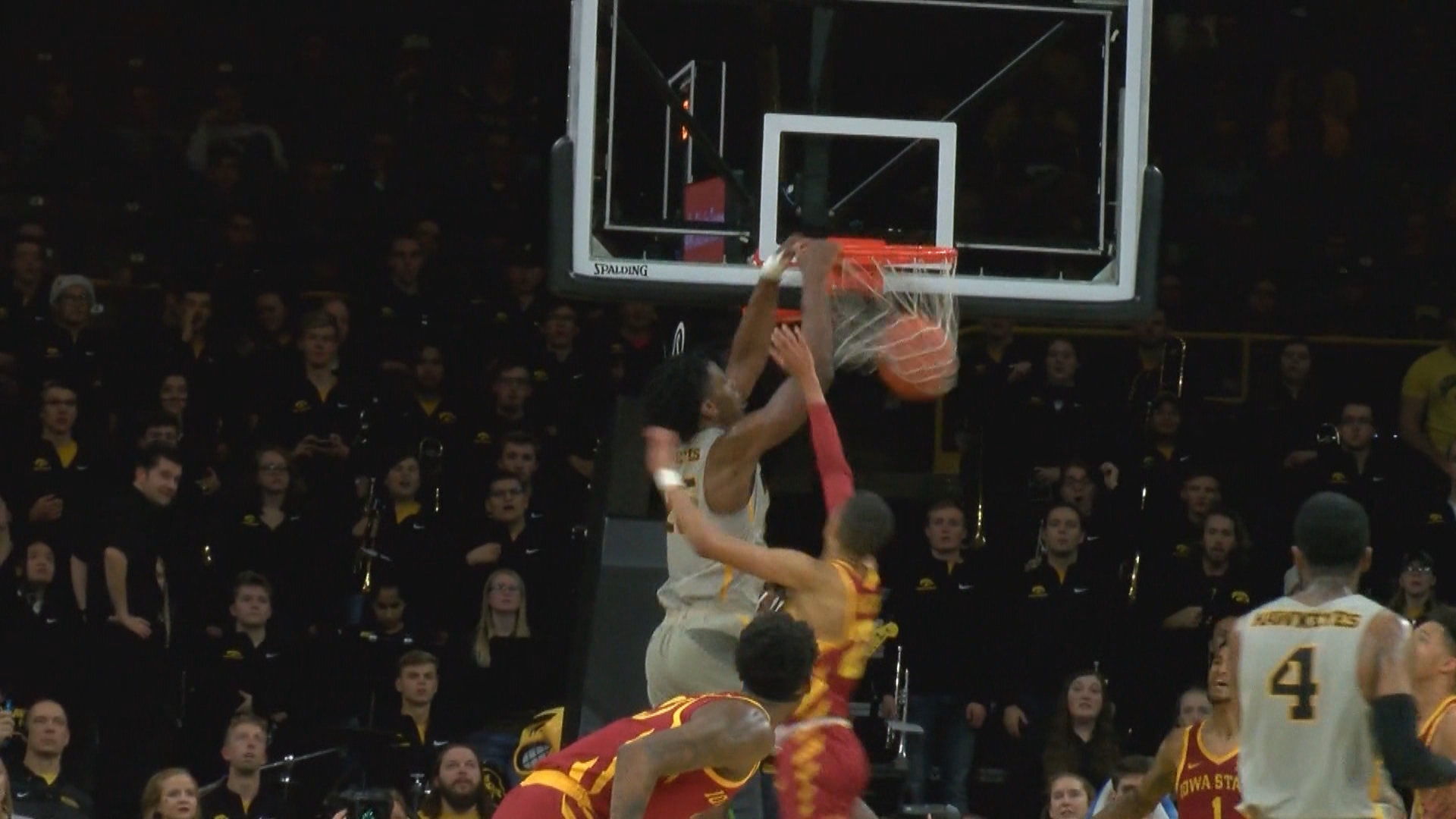 Iowa takes down Iowa State
