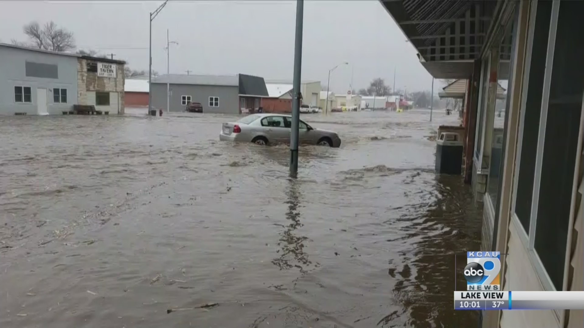 Widespread flooding in Pierce County