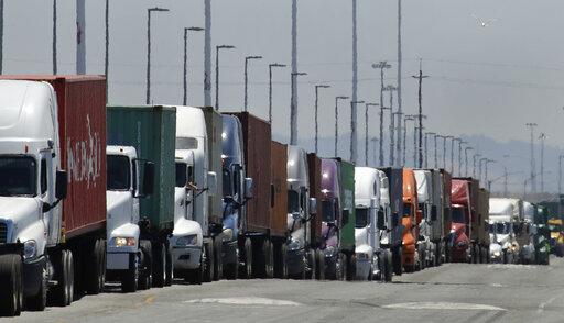 Container Trucking, economy, tariffs, tariff, shipping