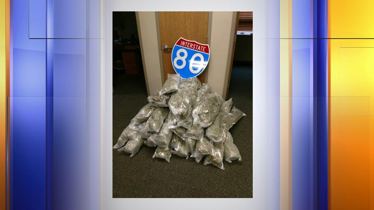 California man arrested for 115 lbs of marijuana, 439 TCH
