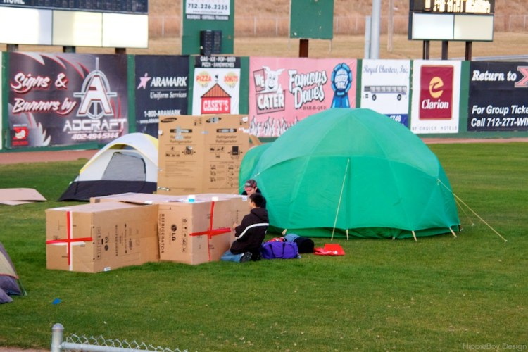 Siouxland Sleep-Out 2011
