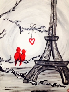 Paris Love Birds