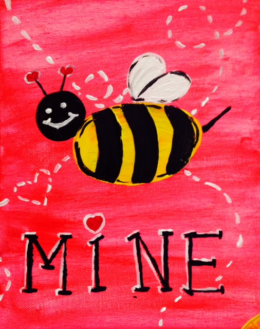 BEE MINE- COOKIES & CANVAS