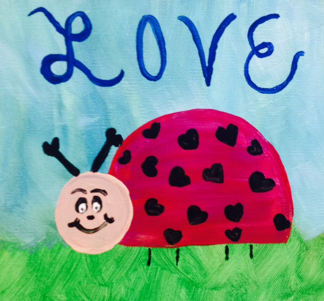 Love Bug-Cookies & Canvas