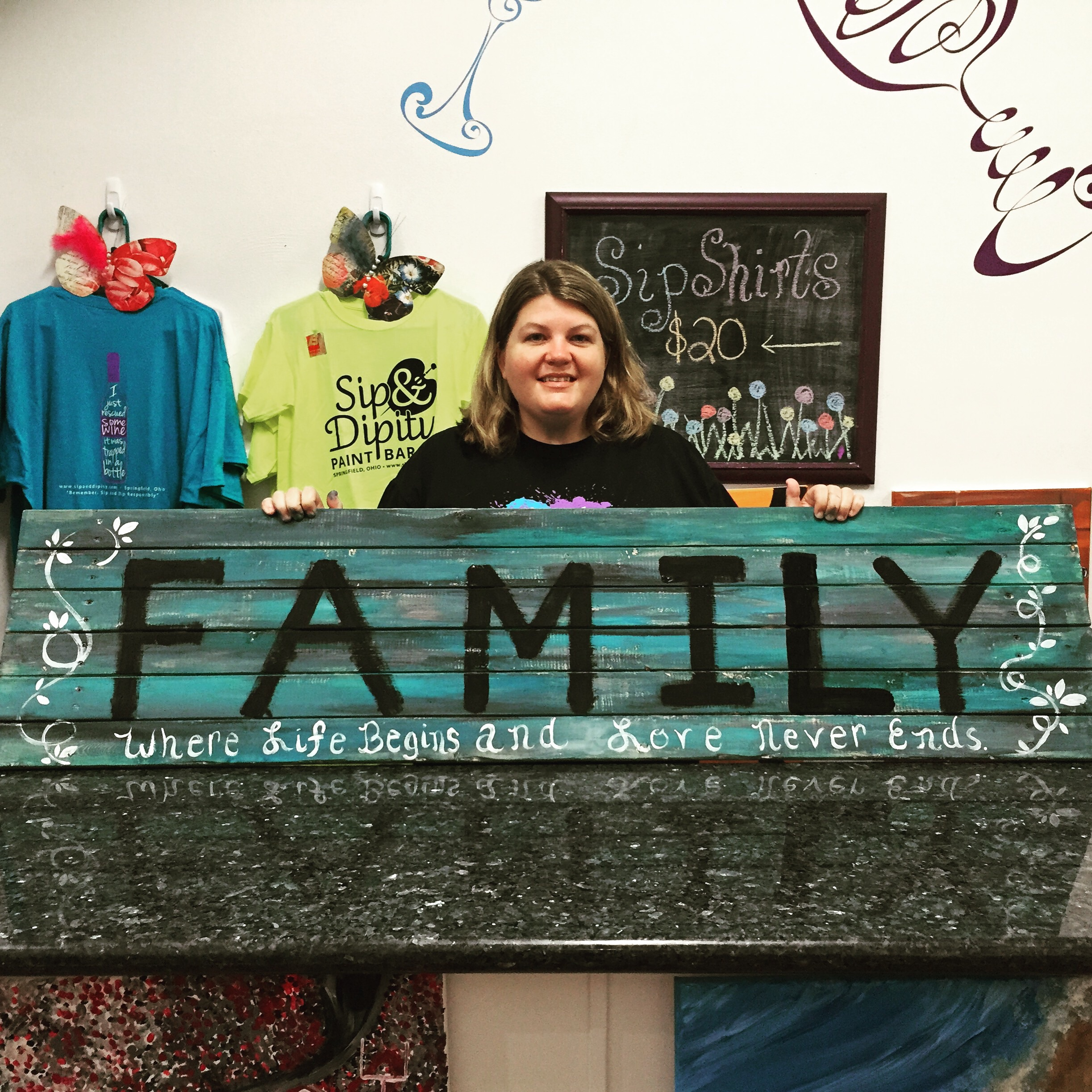 5ft Wooden Sign- Customized