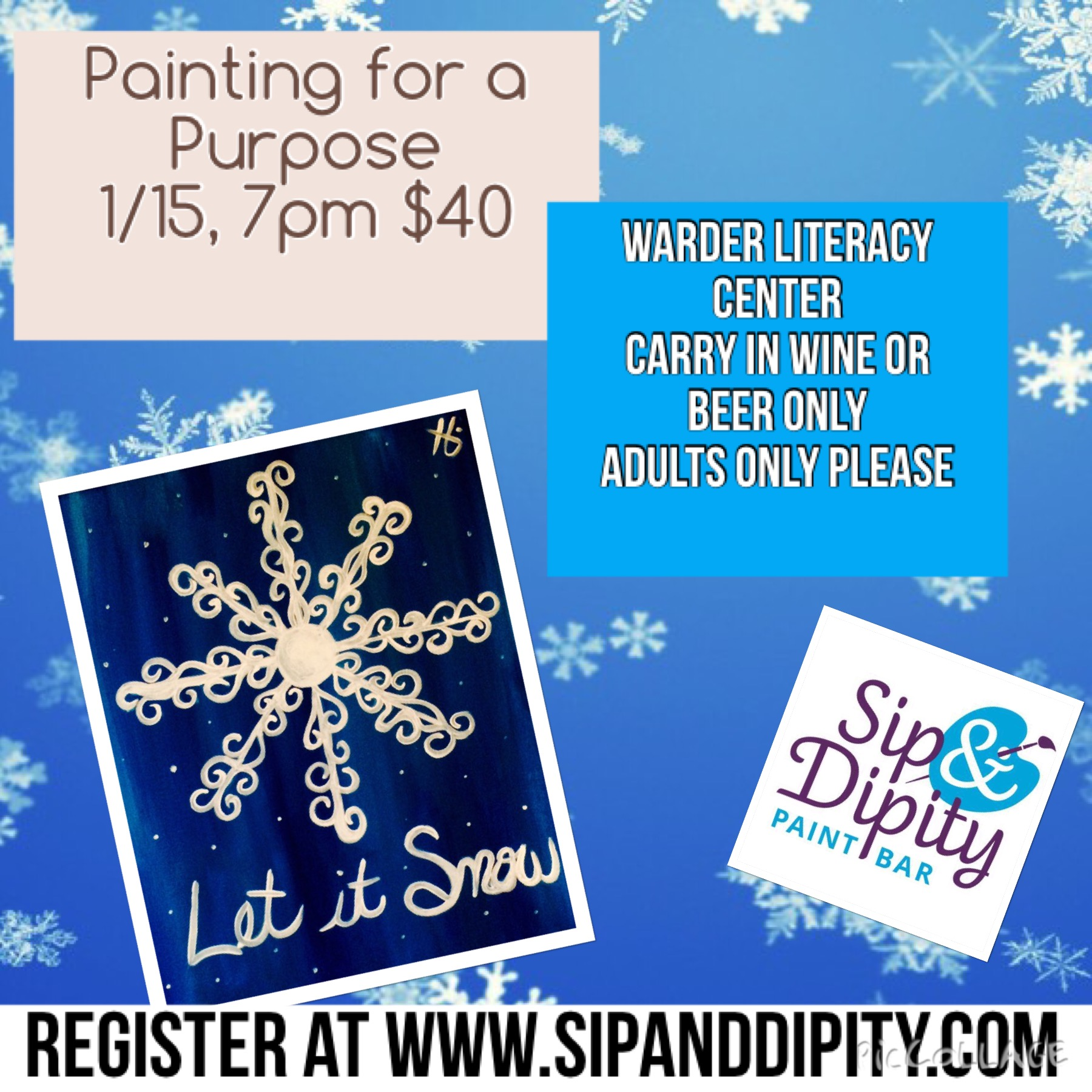 Warder Literacy Center Open Fundraiser