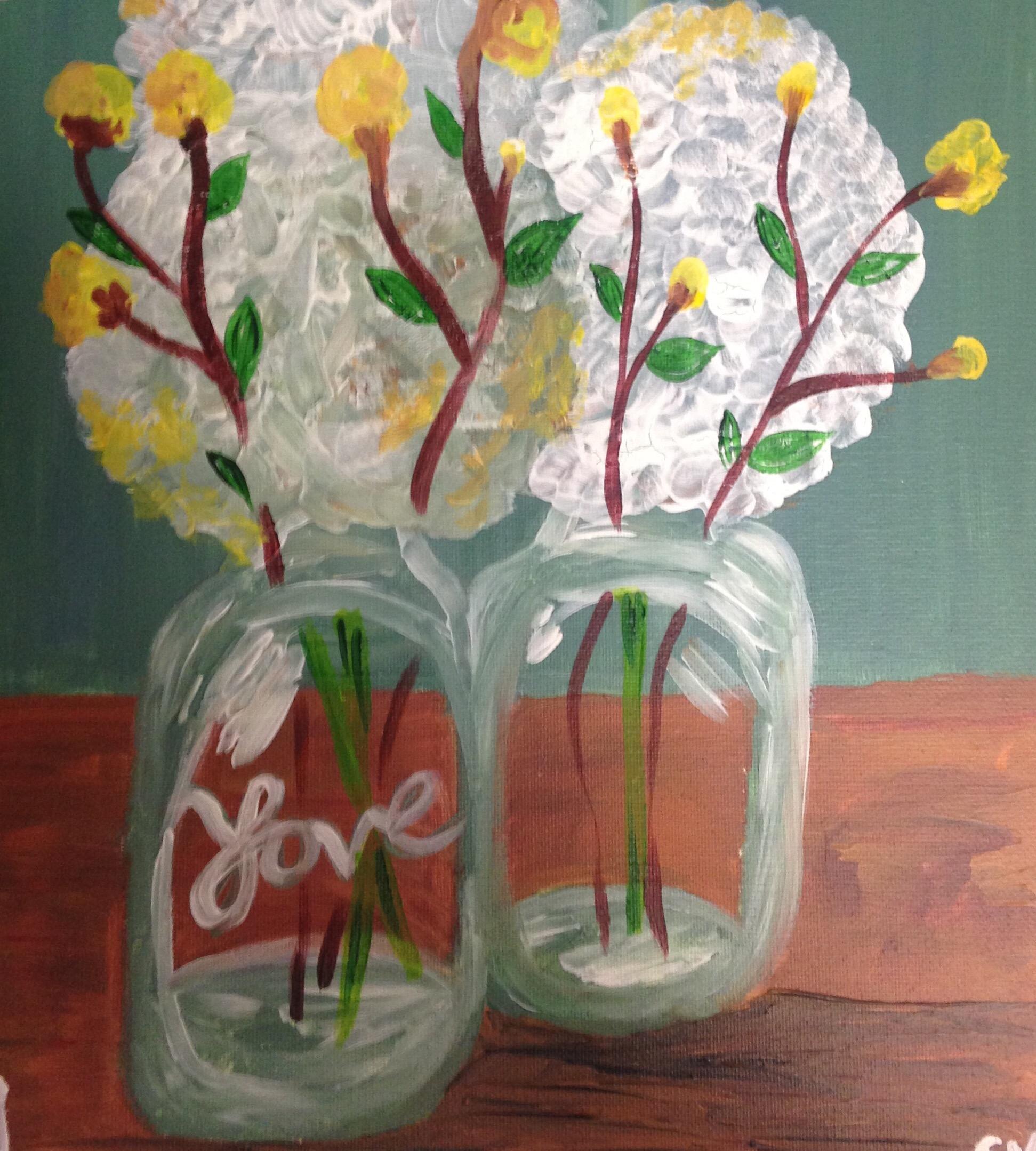 Love in a mason jar