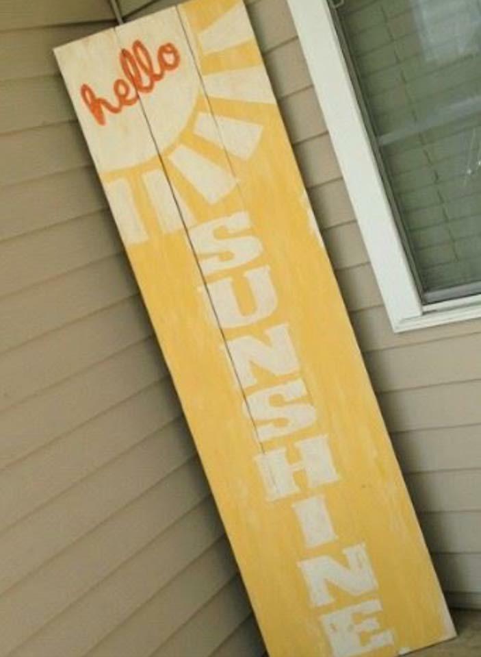 4ft wood boards- open paint
