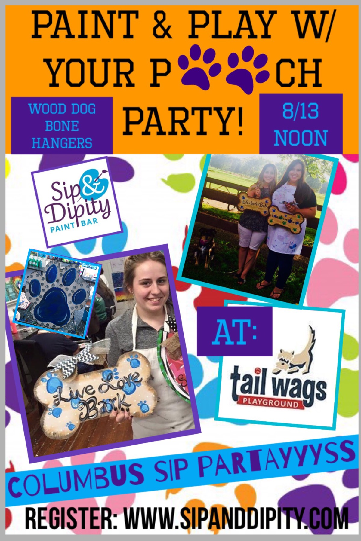 Paint & Play with your Pooch Party!