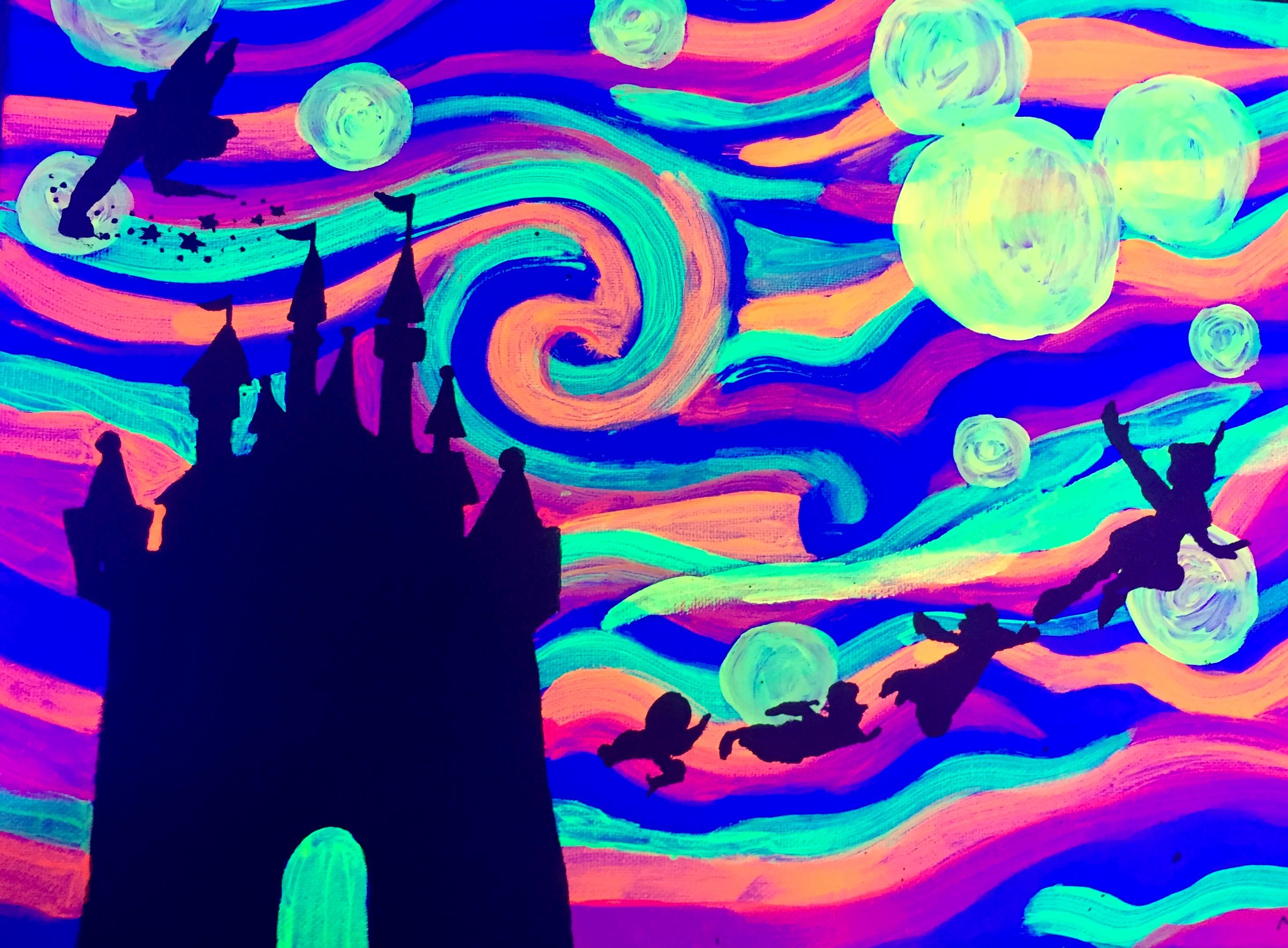 Glow Disney!
