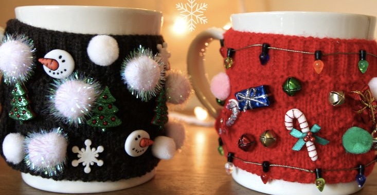 Ugly Sweater Mug Coozie Workshop