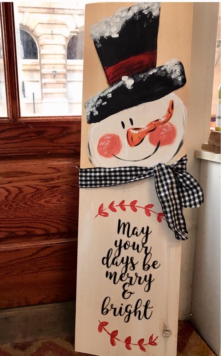 3ft Snowman Board