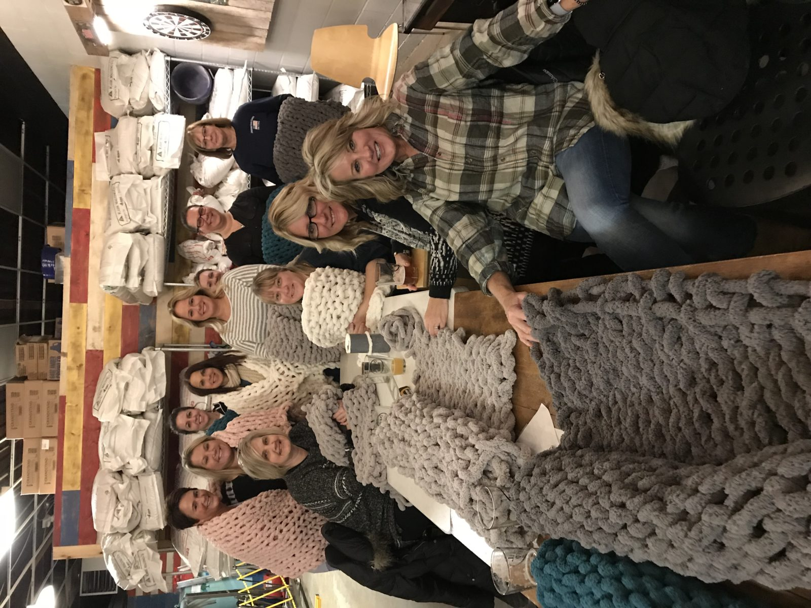 Chunky Blanket Workshop at Devil Wind