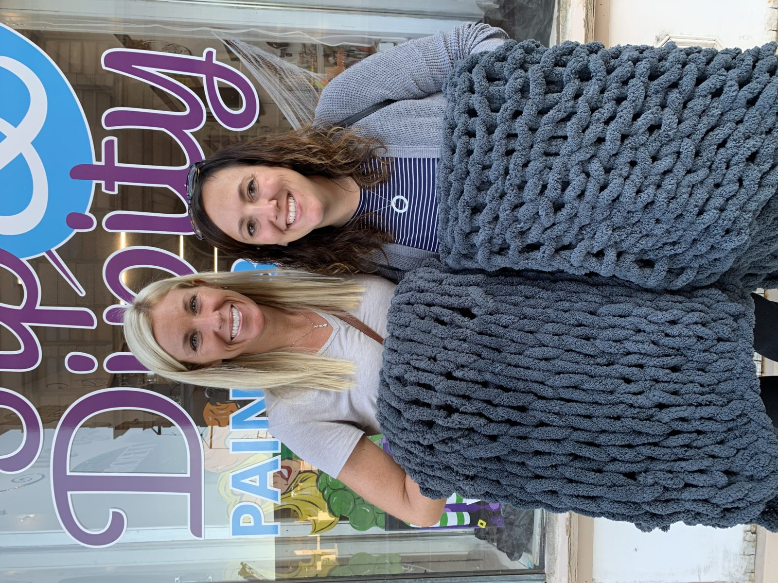 Chunky Blanket Workshop at Fion Wine Room