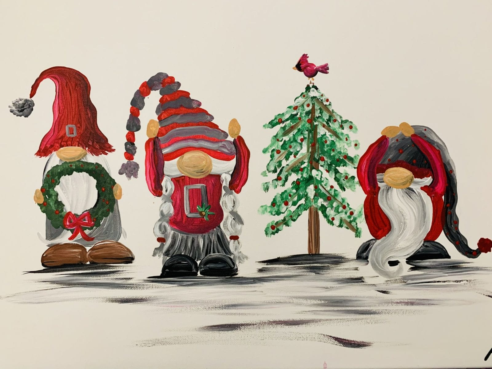 Ohio State Gnome Paint Party at Tomorrow's Stars