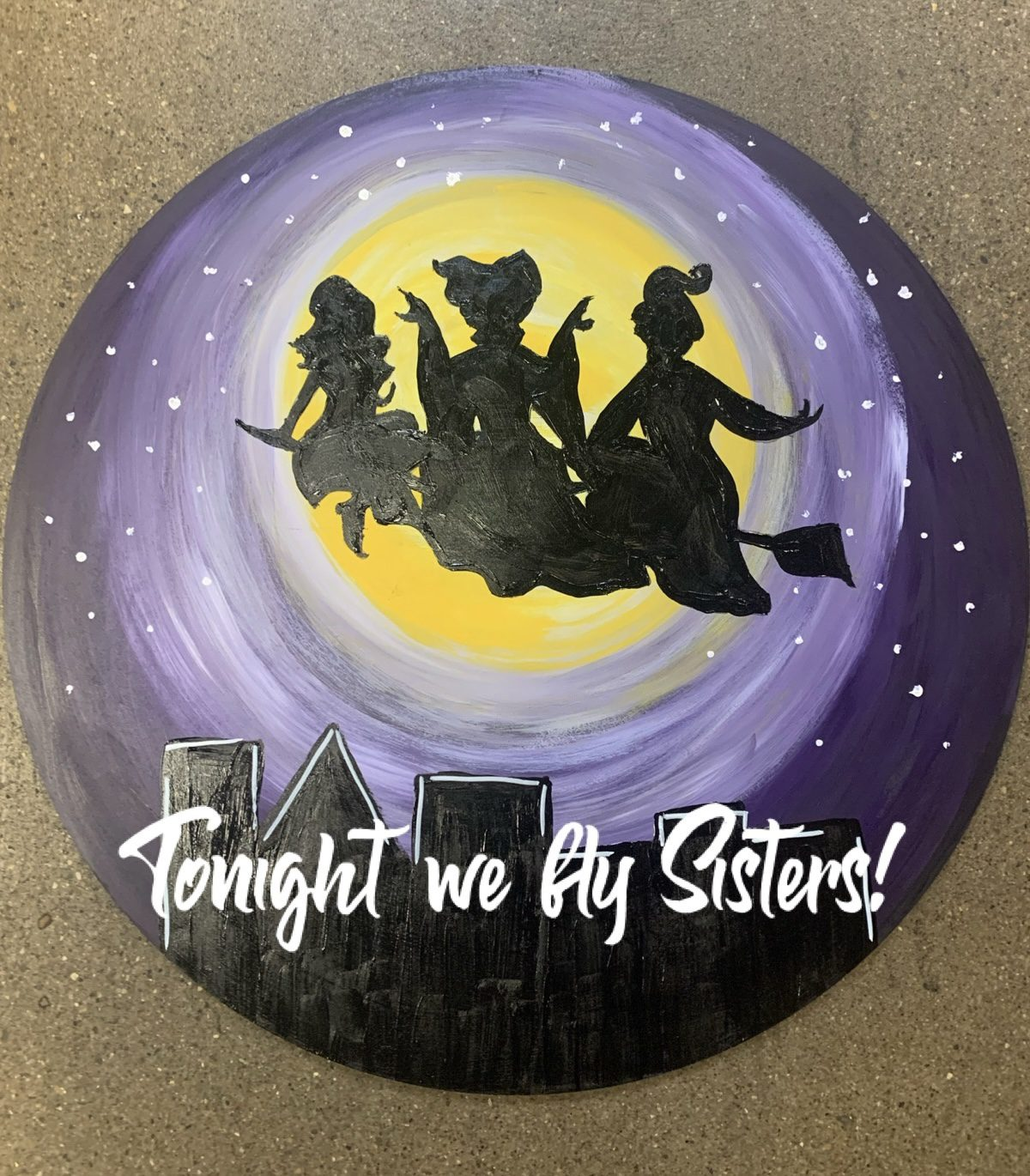 Halloween Paint Party at Devil Wind Brewery