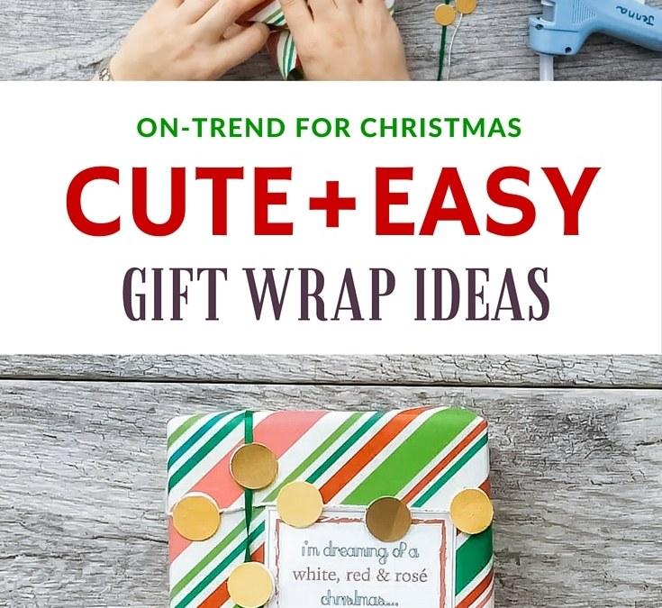 5 creative gift wrap ideas (worthy of Christmas selfies)