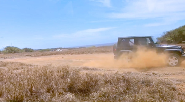 How is the 4WD jeep offroading to Big Island Hawaii tourist activity in South Point