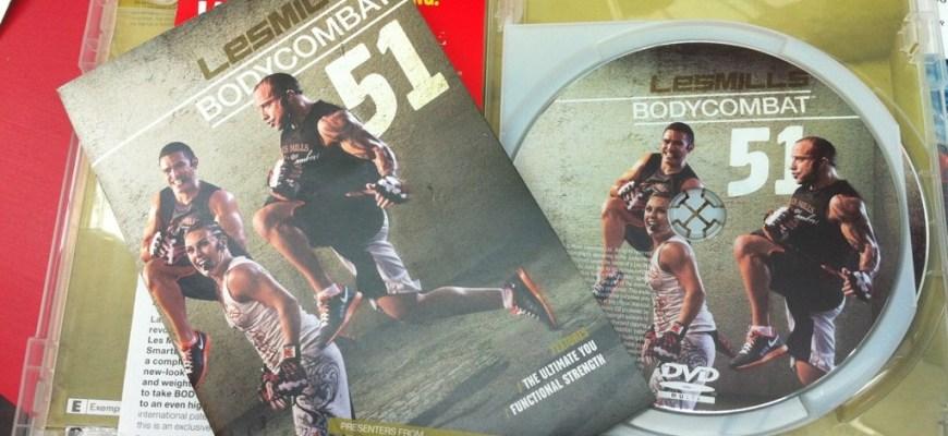 Body Combat 51 disk set