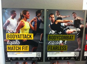 Body Attack 76 and Body Combat 51 Posters