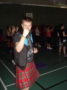 Altitude SQW Edinburgh 2012 - Body Combat 51 - Kilt