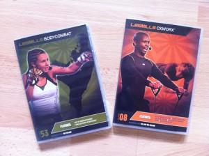 body combat 53 & cx worx 8 dvds