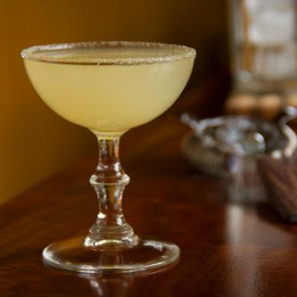 Bitter Lemon Drop Cocktail