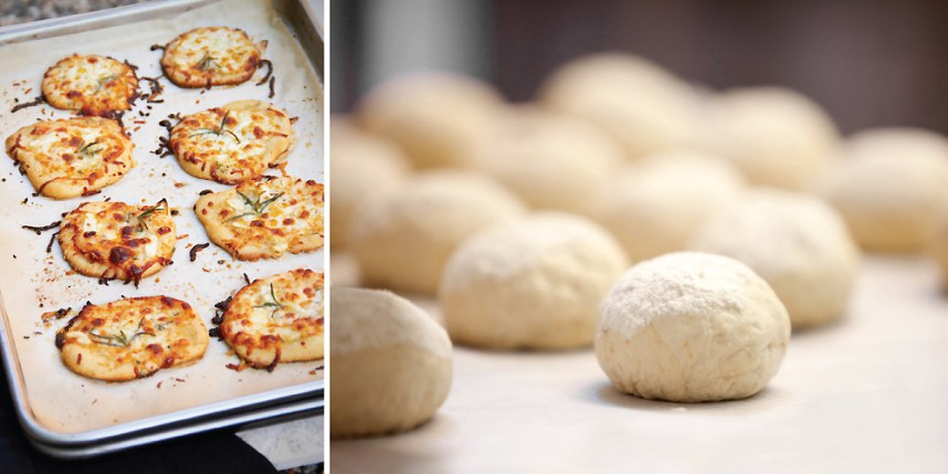 Pizzettes & Pizza Dough | Sippity Sup