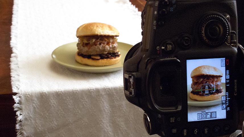 Steakhouse Burger Photo Shoot