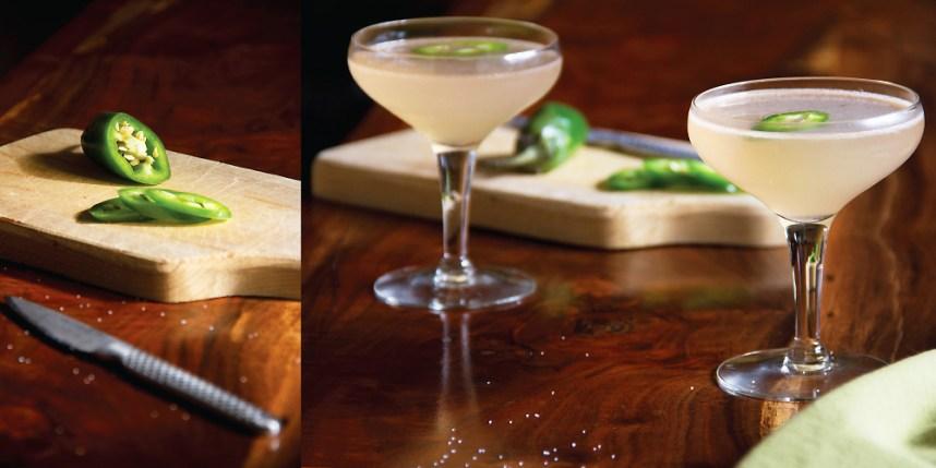 Tequila Mezcal, Grapefruit Juice & Jalapeno